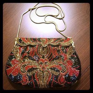*RARE* Vintage Walborg beaded evening bag